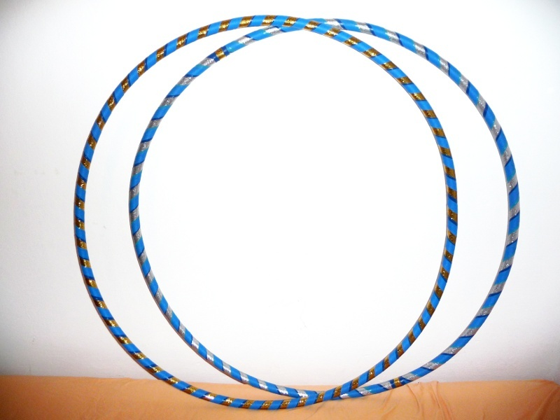 Adult-sized hula-hoops that I made !